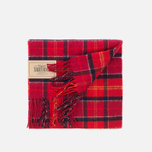 Barbour Tartan Lambswool Scarf Cardinal photo- 3