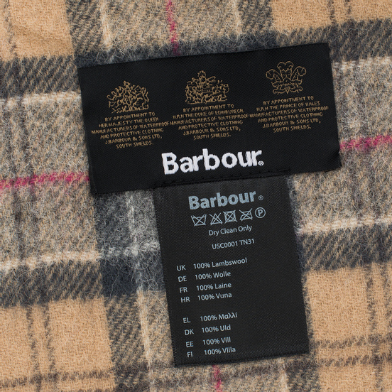 Шарф Barbour Tartan Lambswool Dress