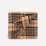 Barbour Tartan Lambswool scarf Muted photo- 1