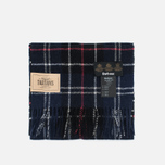 Шарф Barbour Tartan Lambswool Navy/Red фото- 0
