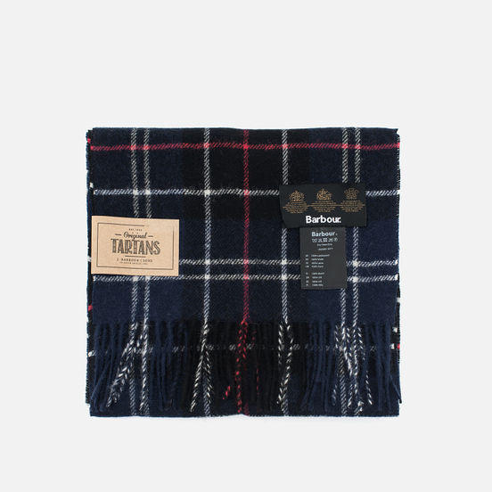 Шарф Barbour Tartan Lambswool Navy/Red