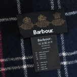 Шарф Barbour Tartan Lambswool Navy/Red фото- 2