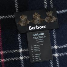 Шарф Barbour Tartan Lambswool Navy/Red фото- 2