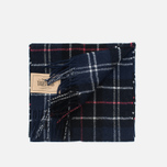 Шарф Barbour Tartan Lambswool Navy/Red фото- 3