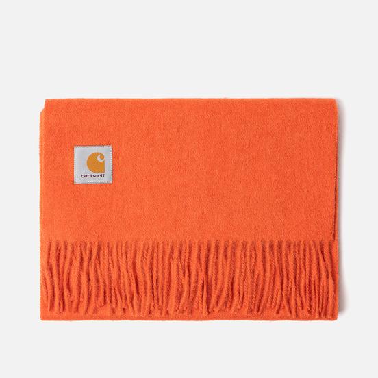 Шарф Carhartt WIP Clan Brick Orange