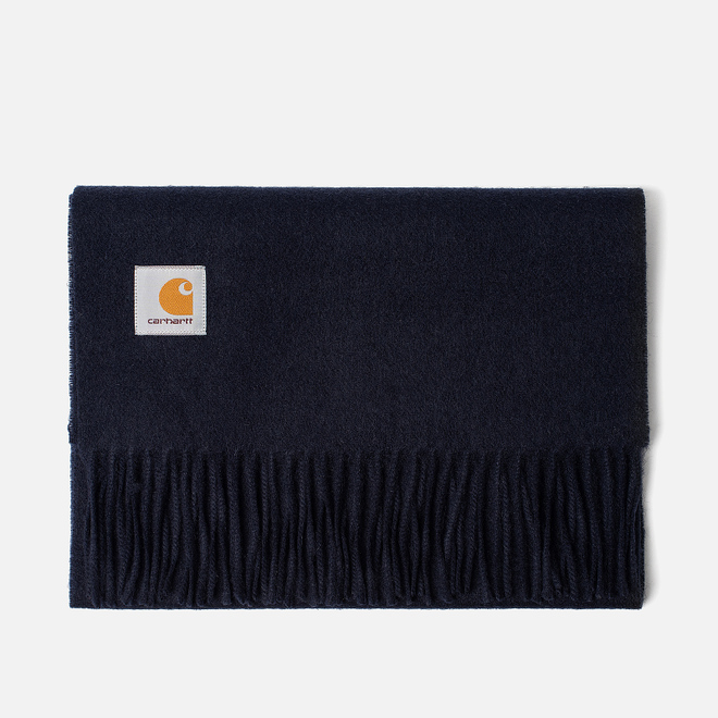 Шарф Carhartt WIP Clan Dark Navy
