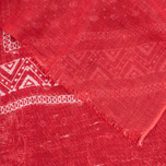 Шарф Edwin Bandana Linen Red фото- 1