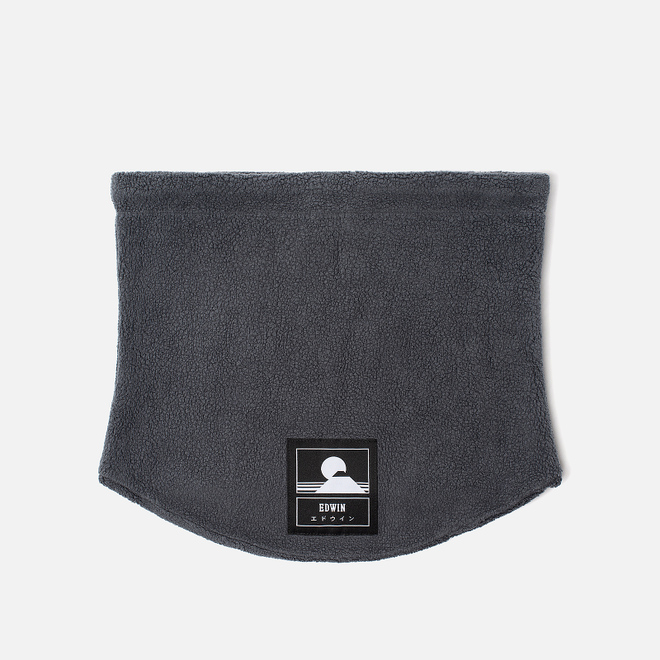 Шарф Edwin Neck Garment Wash Ebony