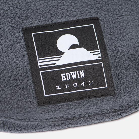 Шарф Edwin Neck Garment Wash Ebony