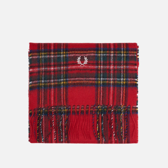Шарф Fred Perry Royal Stewart Tartan Red