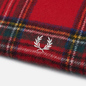 Шарф Fred Perry Royal Stewart Tartan Red фото - 1