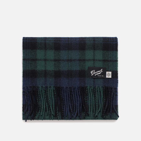 Шарф Gloverall Lambswool Navy Blackwatch