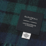 Шарф Gloverall Lambswool Navy/Blackwatch фото- 2