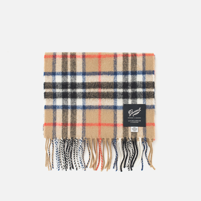 Шарф Gloverall Lambswool Thompson Camel