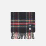 Gloverall Royal Stewart Scarf Black photo- 0