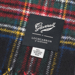 Gloverall Royal Stewart Scarf Black photo- 2