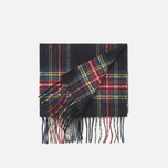 Gloverall Royal Stewart Scarf Black photo- 1