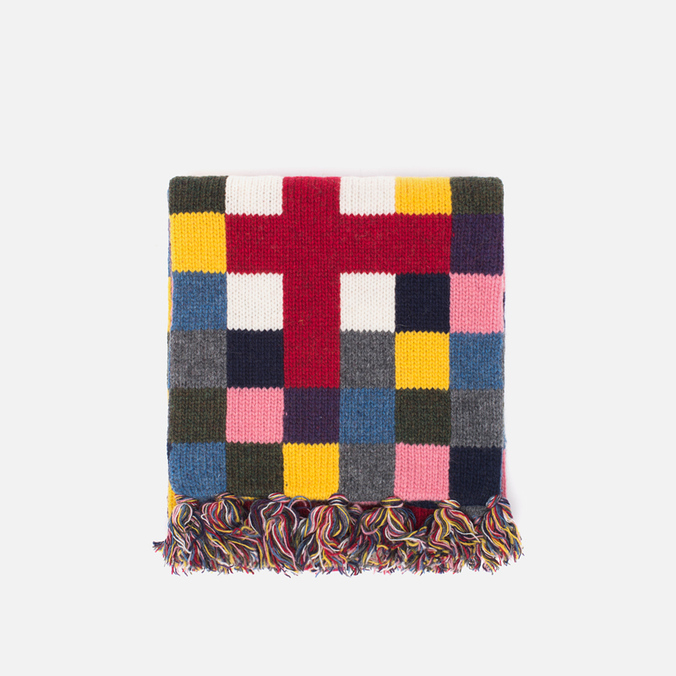 Hackett Block Scarf Multicolour