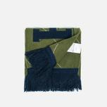 Шарф Han Kjobenhavn Logo KJBH Navy/Army Green Stripe фото- 1