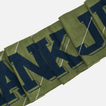 Шарф Han Kjobenhavn Logo KJBH Navy/Army Green Stripe фото- 2