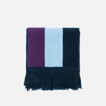 Han Kjobenhavn Logo Scarf White/Black/Blue photo- 0