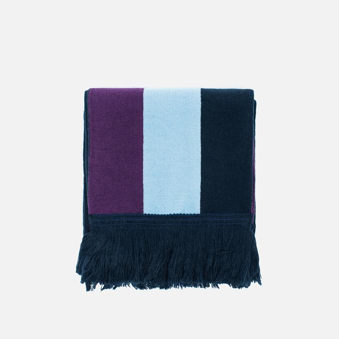 Шарф Han Kjobenhavn Logo KJBN White/Black/Blue/Purple