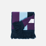 Han Kjobenhavn Logo Scarf White/Black/Blue photo- 1