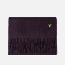 Шарф Lyle & Scott Plain Lambswool Deep Plum фото- 0