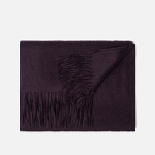 Шарф Lyle & Scott Plain Lambswool Deep Plum фото- 1