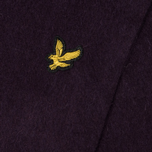 Шарф Lyle & Scott Plain Lambswool Deep Plum фото- 2