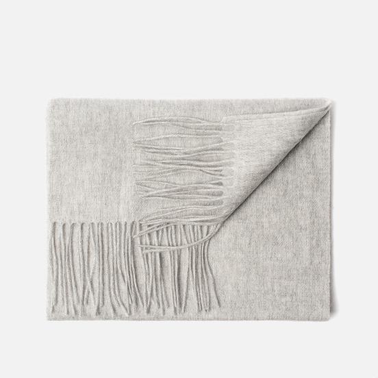 Шарф Lyle & Scott Plain Lambswool Light Grey Marl