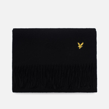 Шарф Lyle & Scott Plain Lambswool True Black фото- 0
