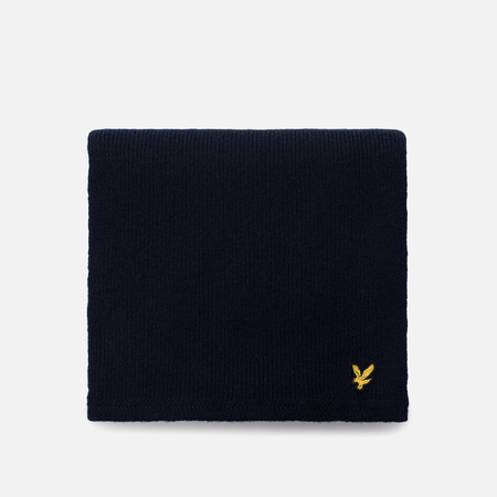 Шарф Lyle & Scott Racked Rib New Navy