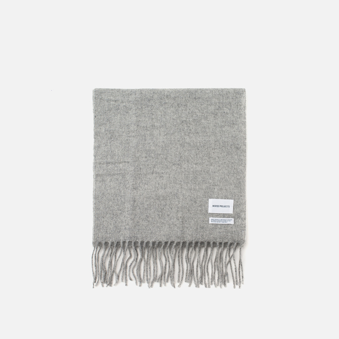 Шарф Norse Projects Sigurd Light Grey Melange