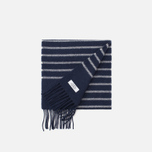 Norse Projects x Johnstons Scarf Dark Navy photo- 1