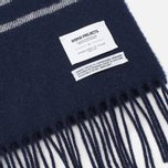 Norse Projects x Johnstons Scarf Dark Navy photo- 2