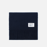 Мужской шарф Norse Projects x Johnstons Lambswool Navy фото- 0