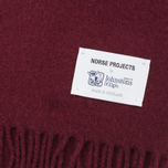 Norse Projects x Johnstons Lambswool Scarve Red Clay photo- 1