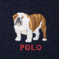 Шарф Polo Ralph Lauren Bulldog Wool Blend Navy фото - 2