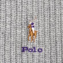 Шарф Polo Ralph Lauren Embroidered Polo Pony Viscose Blend Light Grey Heather фото- 2
