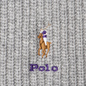 Шарф Polo Ralph Lauren Embroidered Polo Pony Viscose Blend Light Grey Heather фото - 2