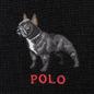 Шарф Polo Ralph Lauren French Bulldog Wool Blend Black фото - 2