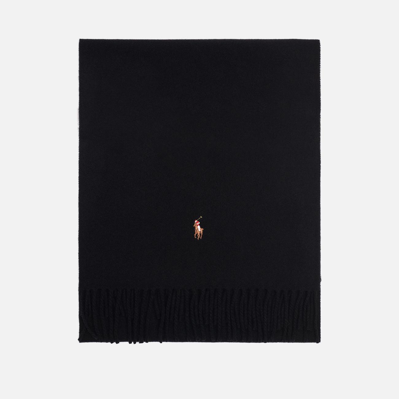 Шарф Polo Ralph Lauren Oblong Sigh It Wool Black