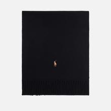 Шарф Polo Ralph Lauren Oblong Sigh It Wool Black фото- 0