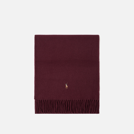 Шарф Polo Ralph Lauren Oblong Sigh It Wool Classic Wine