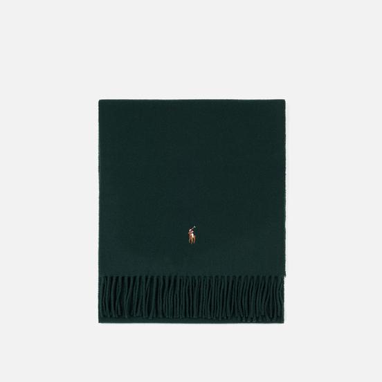 Шарф Polo Ralph Lauren Oblong Sigh It Wool College Green