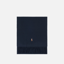 Шарф Polo Ralph Lauren Oblong Sigh It Wool Hunter Navy фото- 0