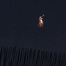 Шарф Polo Ralph Lauren Oblong Sigh It Wool Hunter Navy фото- 1