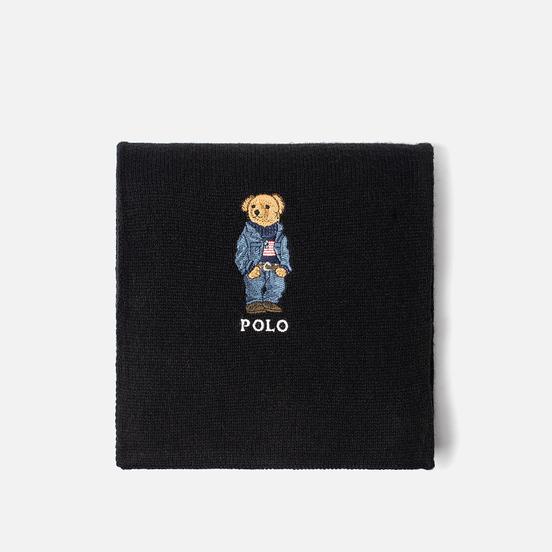 Шарф Polo Ralph Lauren SW Bear Acrylic Blend Black