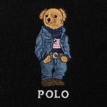 Шарф Polo Ralph Lauren SW Bear Acrylic Blend Black фото- 2